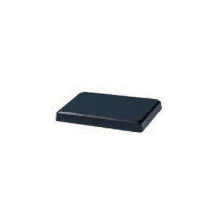 Black Powder Painted Cast Aluminum Portable Base for LP Grills