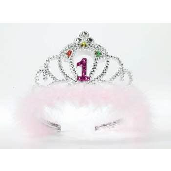 FLASHING BIRTHDAY TIARA #1](80th Birthday Tiara)