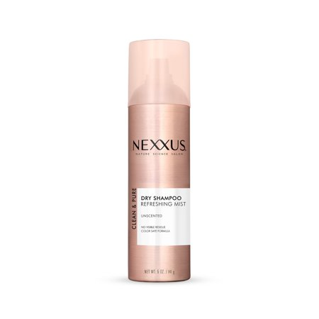 Nexxus Clean & Pure Dry Shampoo Unscented, 5 oz