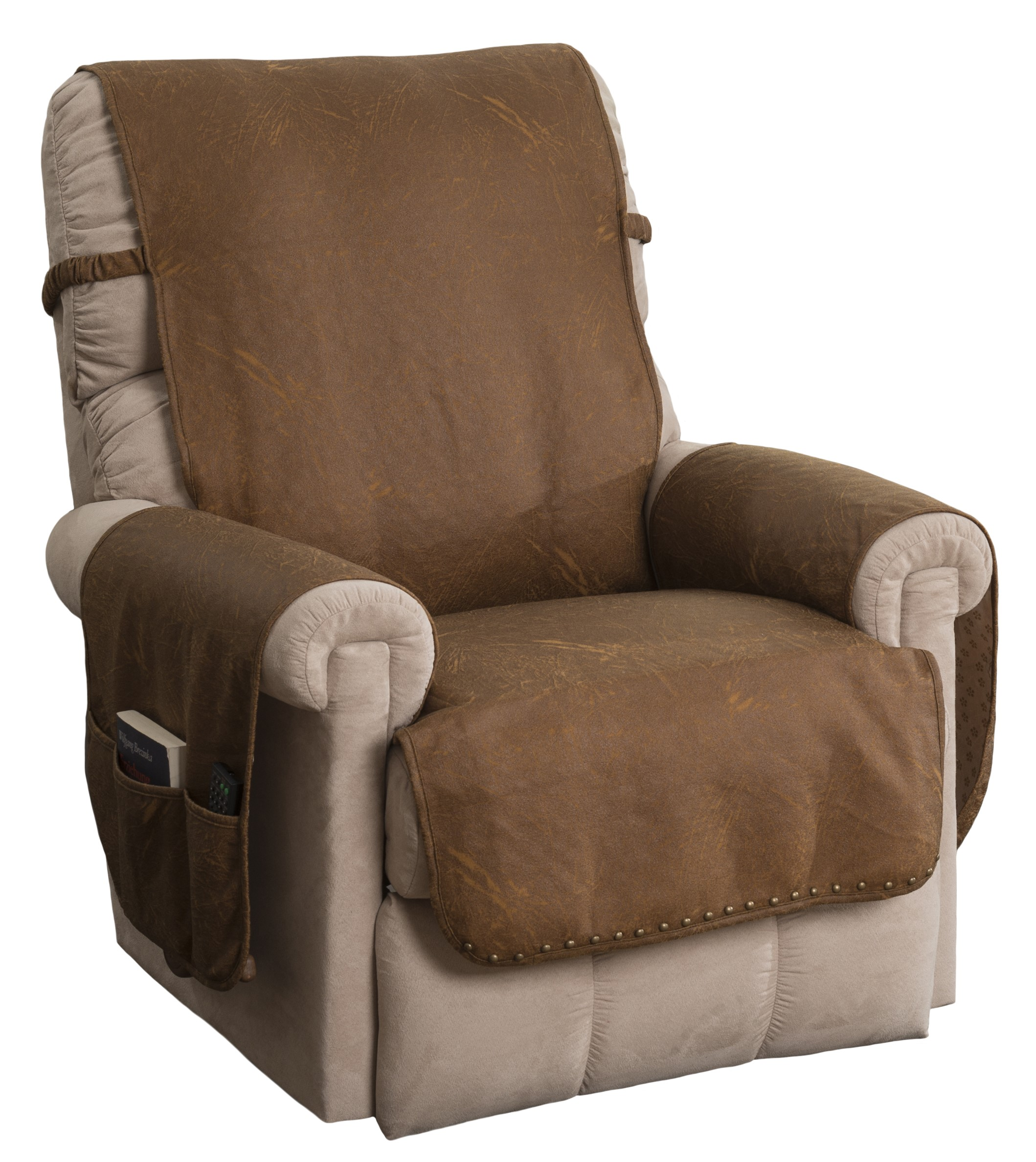 Innovative Textile Solutions Faux Leather Recliner Furniture