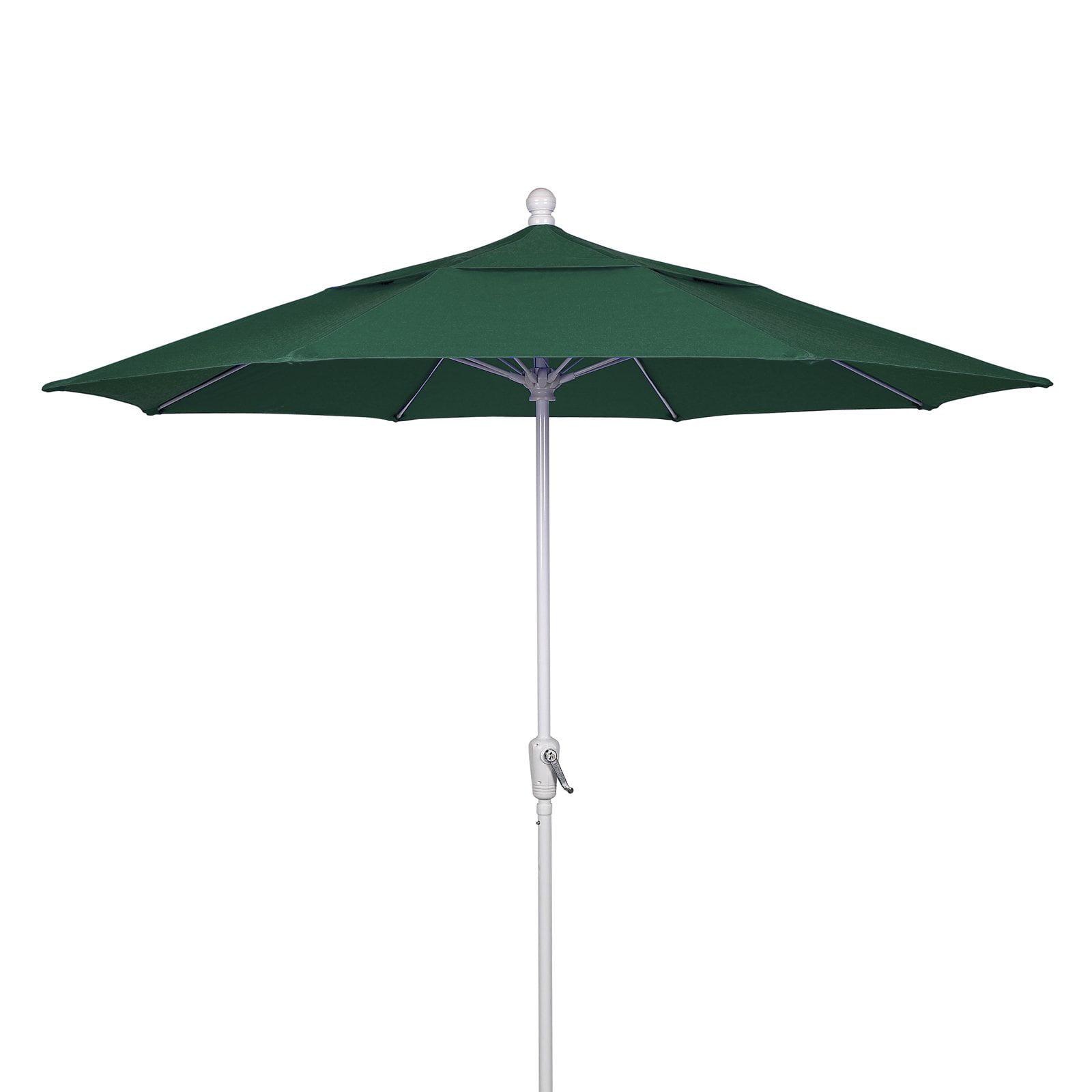 FiberBuilt 9 ft. Aluminum Wind Resistant Patio Umbrella