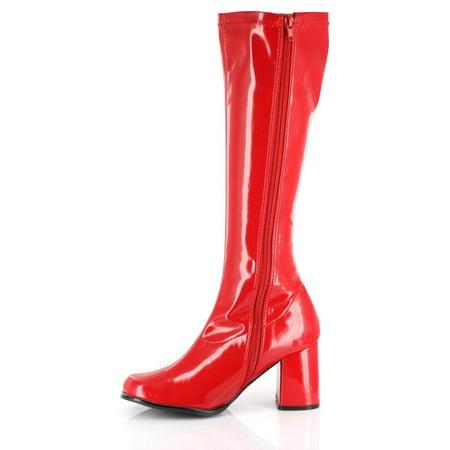 Women's GOGO 3'' Heel Zipper Boot](Sequin Gogo Boots)