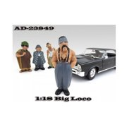 American Diorama 23849 Big Loco Homies Figure for 1-18 Diecast Model Cars