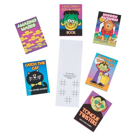Fun Halloween Online Games (HALLOWN FUN & GAME BOOK(12 PC/PBH,6PBH) - Stationery - 72)