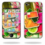 Mightyskins Apple iPhone 4 or iPhone 4S AT&T or Verizon 16GB 32GB Cell Phone wrap sticker skins Color Mash