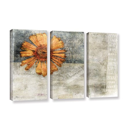 Dried Flower Abstract' Gallery wrapped Canvas Art Print