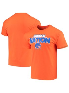 Men's Russell Athletic Orange Boise State Broncos Slogan T-Shirt