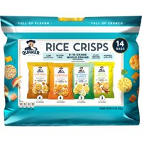 Quaker Rice Crisps, Sweet & Savory Variety Pack, 14 Count