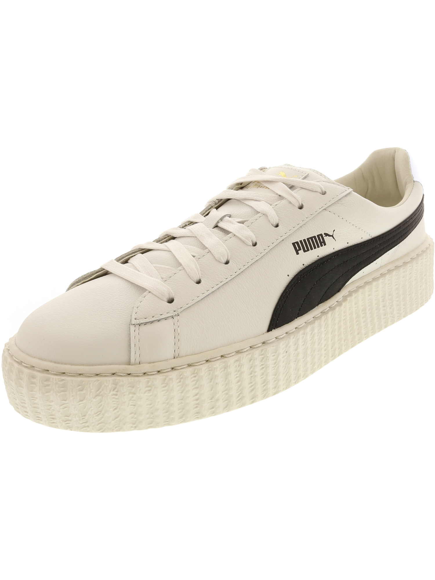 Puma Men's Creeper White / Black Ankle-High Leather Fashion Sneaker - 11M