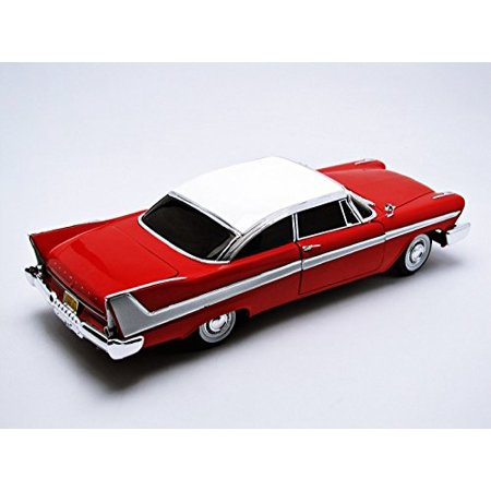 Autoworld AWSS102 1958 Plymouth Fury Christine Night Time Version 1-18 Diecast Model Car - image 2 of 5