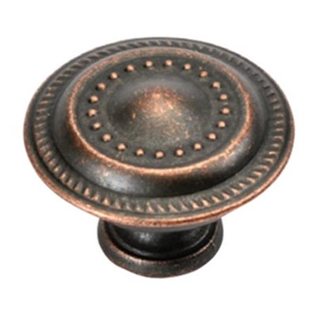 Hickory Hardware P8196-DAC 1.25 In. Manor House Dark Antique Copper Cabinet - Dark Antique Copper Knob