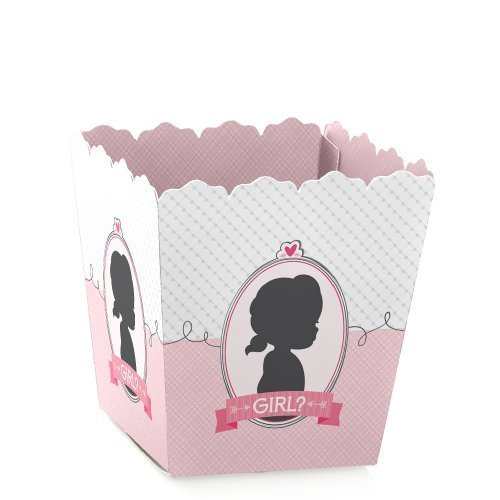 Gender Reveal - Girl - Baby Reveal Party - Party Mini Favor Boxes - Baby Shower Treat Candy Boxes - Set of 12
