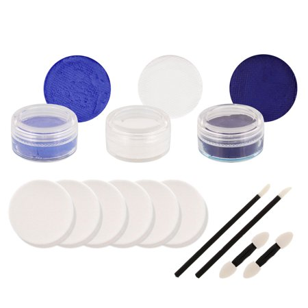 TAR HEELS Football Basketball FACE PAINTING SET Paint