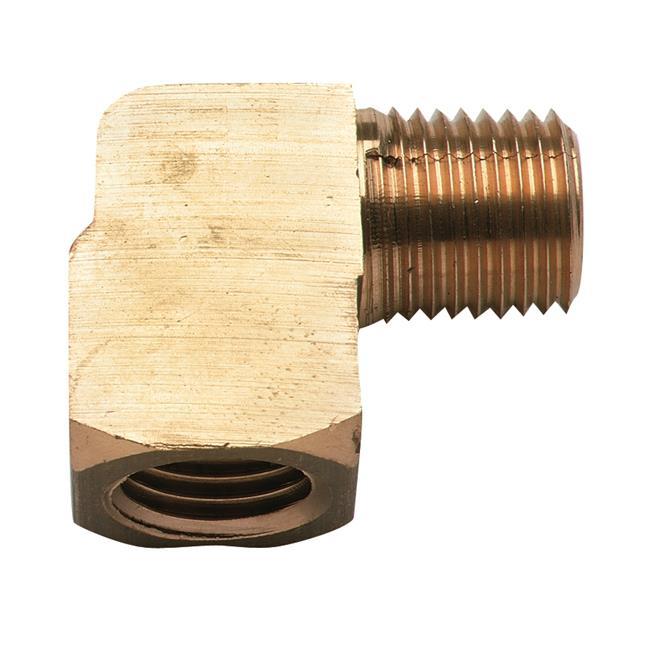 Moeller Manufacturing 033436-10 0.25 in. NPT Elbow Brass Fuel Line - image 1 de 1