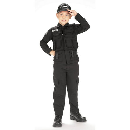 S.W.A.T. Kids Police Costume for $<!---->