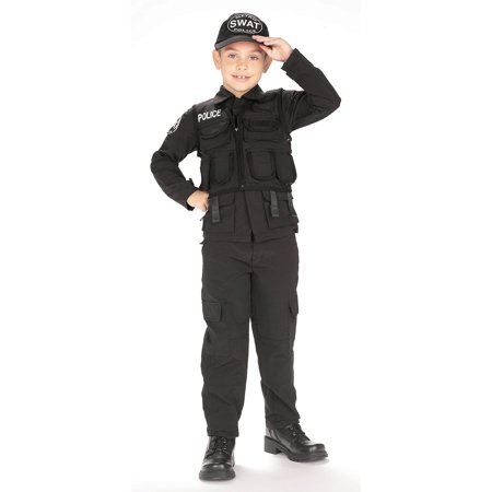 S.W.A.T. Kids Police Costume