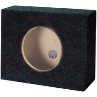"Goldwood Sound TR10F Sealed 10"" Single Slim Car Box Speaker Enclosure Cabinet for Truck SUV"