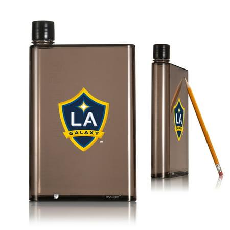 Los Angeles Galaxy 14oz A5 Smoke Flat Water Bottle