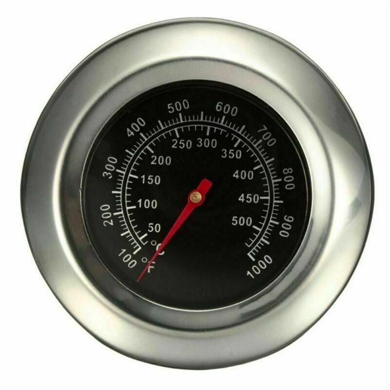 Edelstahl 0-300°C Grill Thermometer Smoker Temp Gauge BBQ Räucherofen Gasgrill