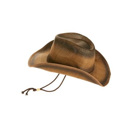 Affordable Cowboy Hats (George Men's Brown Cowboy Hat)