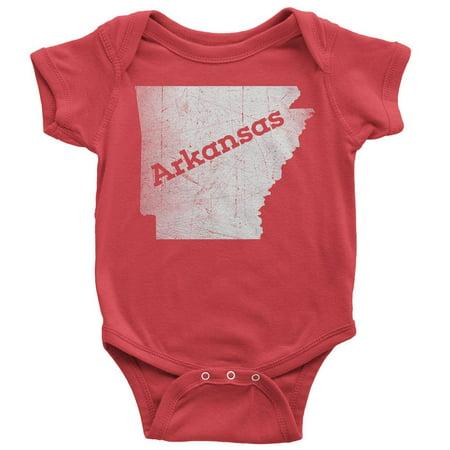 18-24 Months / Red Arkansas Baby Bodysuit Home - Shirt Bodysuit Baby