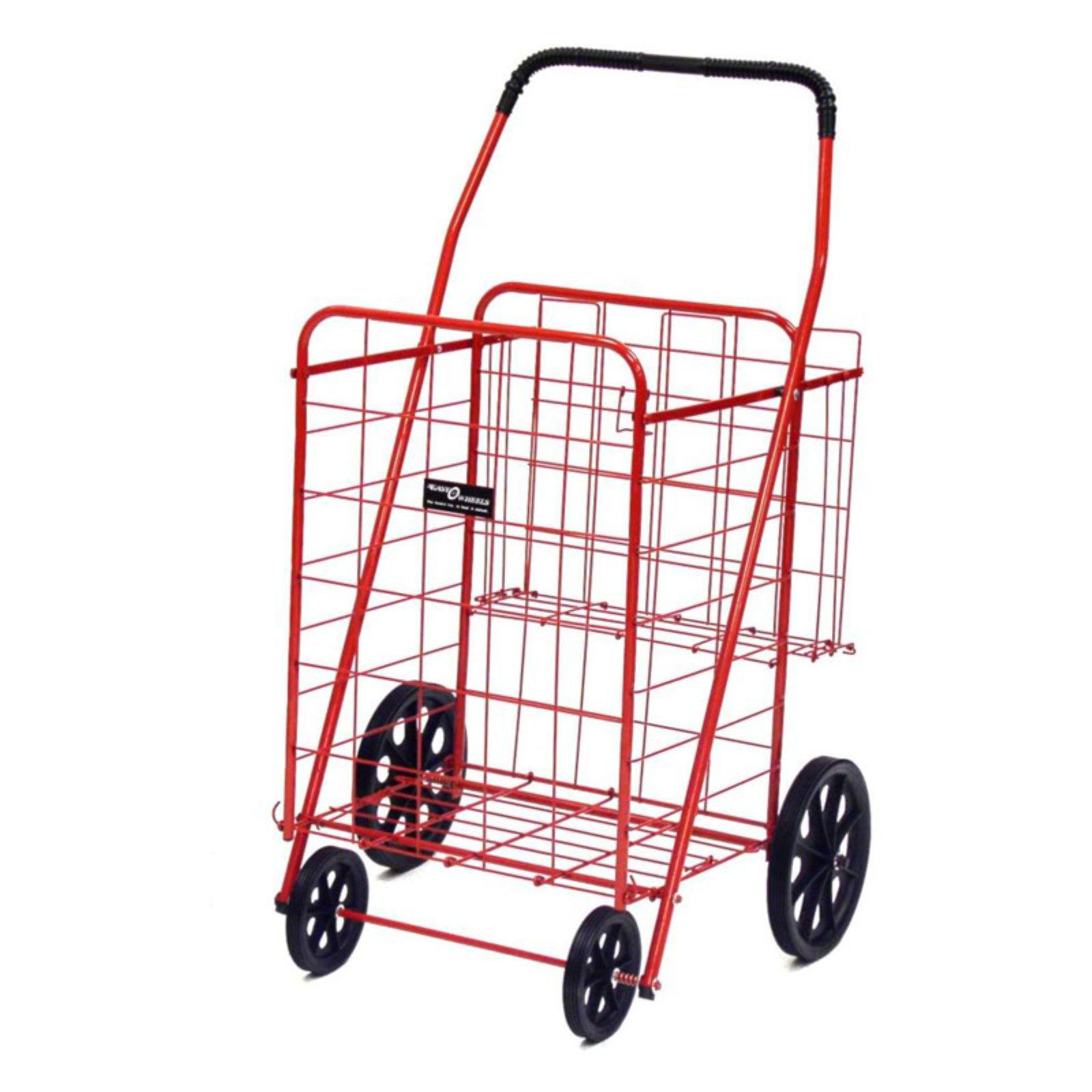 Easy Wheels Jumbo Shopping Cart Plus - Multiple Colors