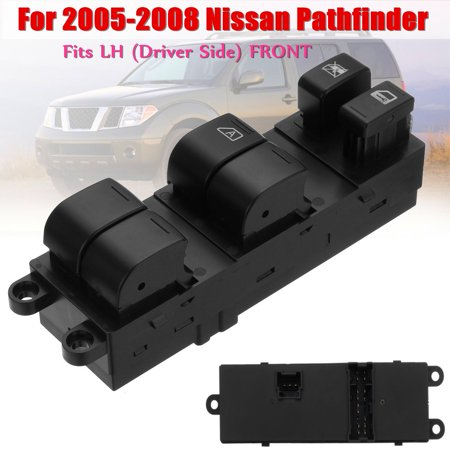 Master Window Switch Driver Side Front Lh For 05 08 Nissan Pathfinder New