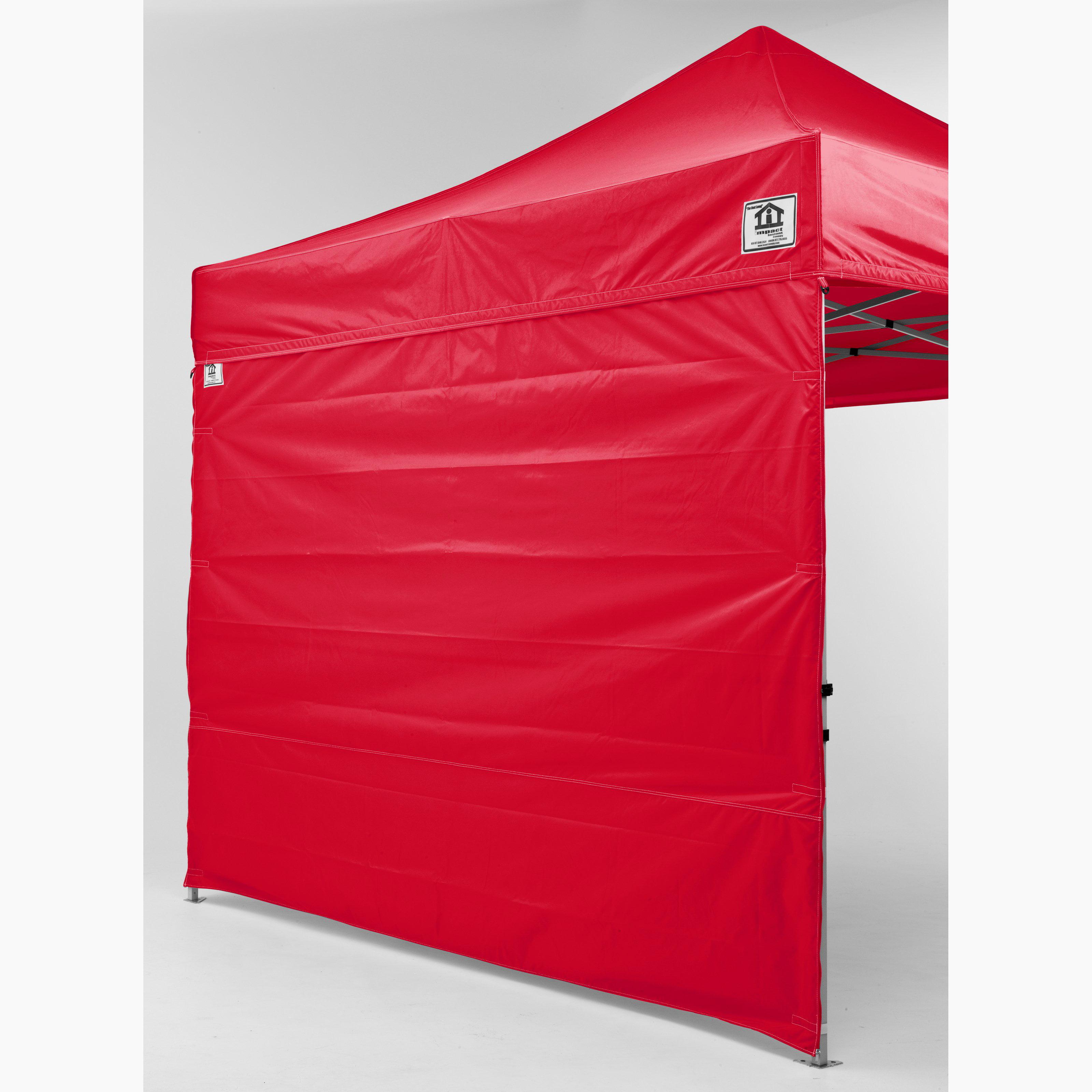 Impact Canopy 10x10 ft. Pop Up Canopy Tent Straight Leg Canopy Sidewalls - Set of 2 - Walmart.com  sc 1 st  Walmart & Impact Canopy 10x10 ft. Pop Up Canopy Tent Straight Leg Canopy ...