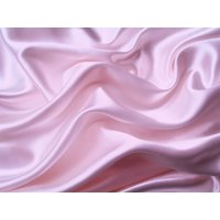 4Pc 400TC Satin Bed Sheet Pillowcase Set DP Lingerie Silky Charmeuse Pink Queen