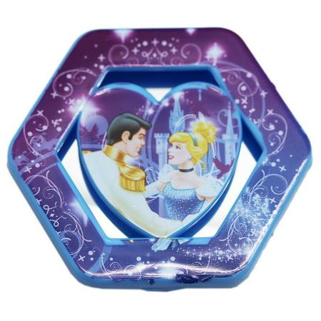 Princess Wall Mirror (Disney's Cinderella Blue and Purple Portable Mirror)