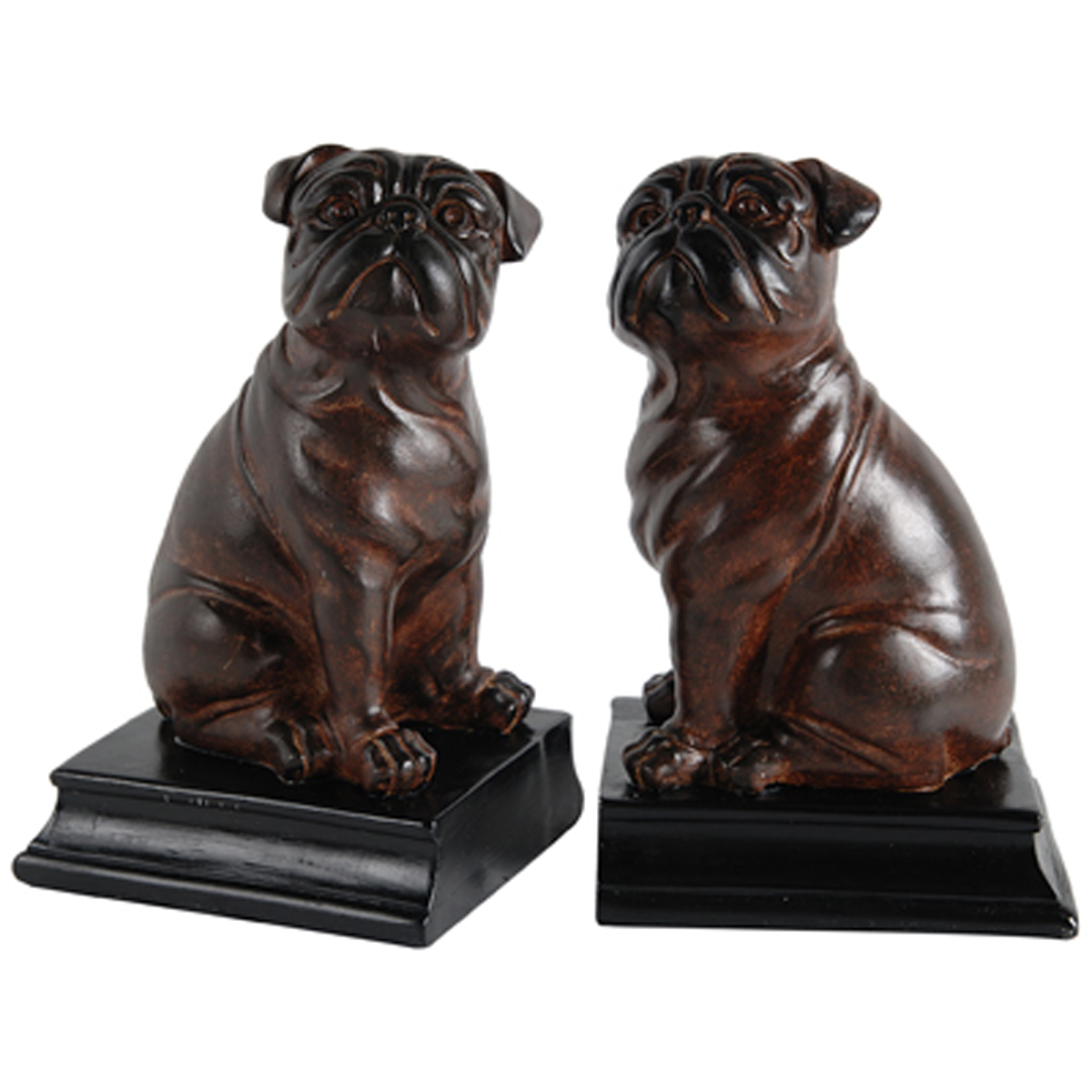 A&B Home Bull Dog Bookends, Set of 2 by A&B Home