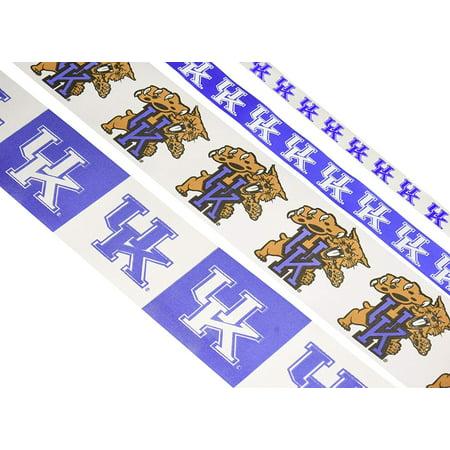 Kentucky Yard - Offray Printed Craft Ribbon Pack, 12-Yard, University of Kentucky Wildcats