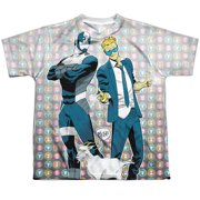 Quantum And Woody Bros (Front Back Print) Big Boys Sublimation Shirt