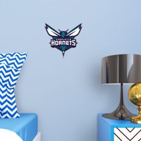 Fathead Charlotte Hornets: Logo - Large Officially Licensed NBA Removable Wall Decal