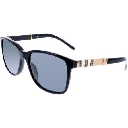 f9461a41c47 Burberry - Men s BE4181-300187-58 Black Square Sunglasses - Walmart.com
