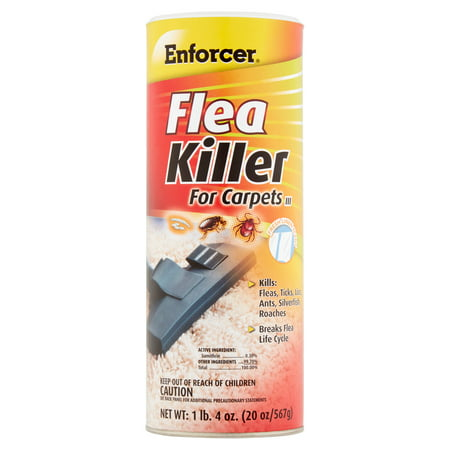 Enforcer Flea Killer for Carpets III, 20 (Flea Control Carpets)