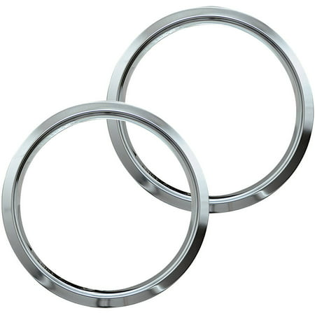 Range Kleen Small Trim Rings Style D Chrome Set Of 2: style me up fashion trim rings