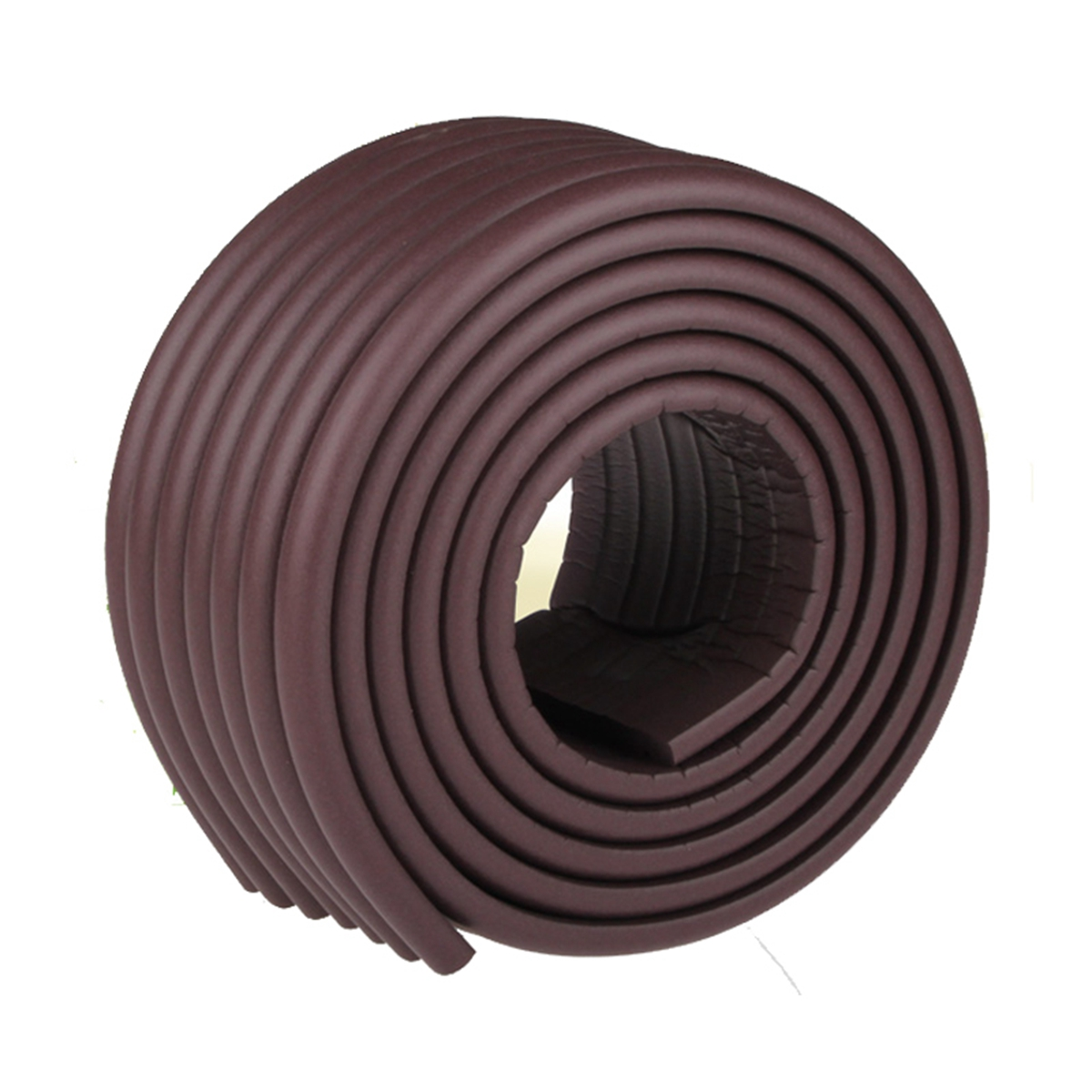 M2cbridge Multifunctional Edge and Corner Guard Coverage Baby Safety Bumper DIY 6.5 Ft (Brown)