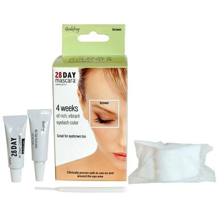 Godefroy 28 Day Mascara, Brown - 25 application kit