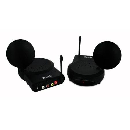 Nyrius 6 Ch 5.8 GHZ Wireless TV Audio Video Receiver Sender ...