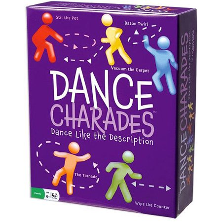 Pressman Toy Dance Charades Game - Halloween Dance Game Ideas