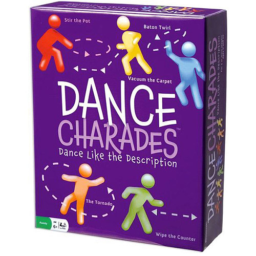 Pressman Toy Dance Charades Game