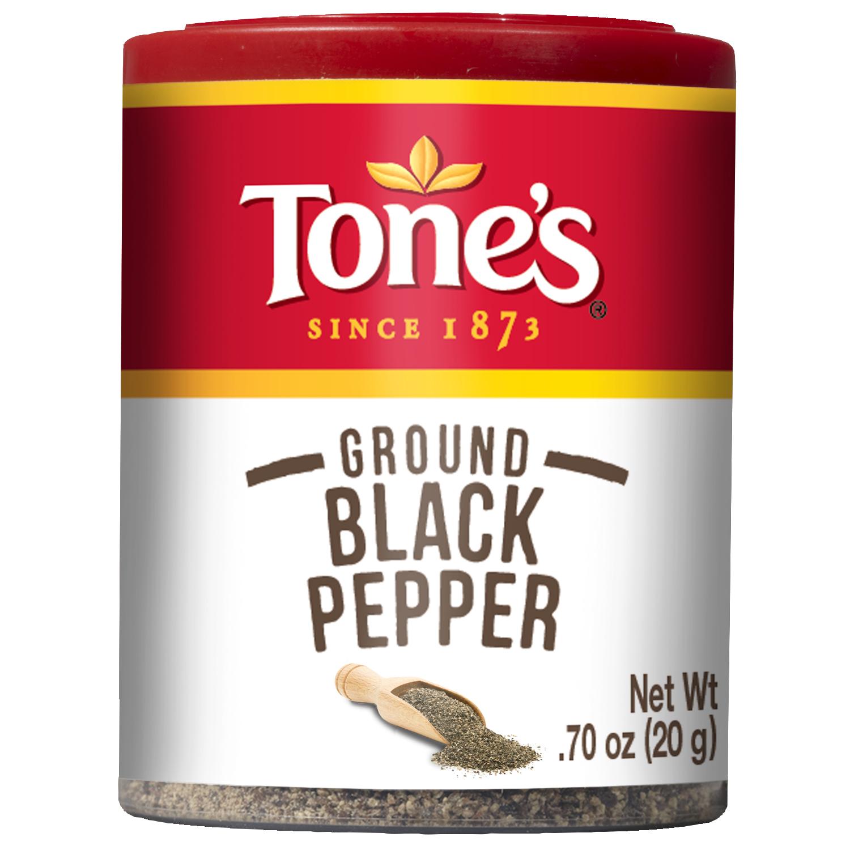Tones Black Pepper, Ground