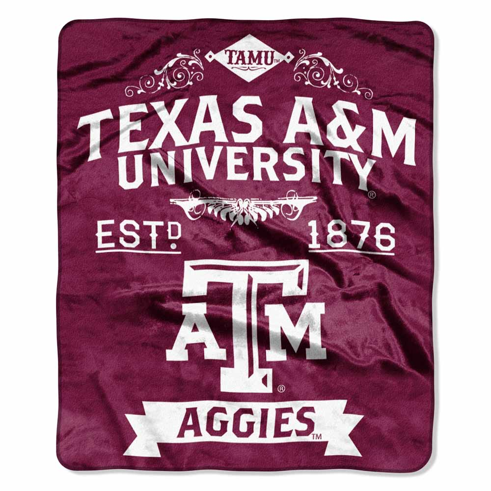 Texas A&M Plush Blanket