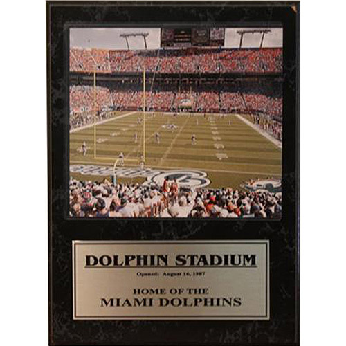 NFL Miami Dolphins Stat Plaque, 12x15