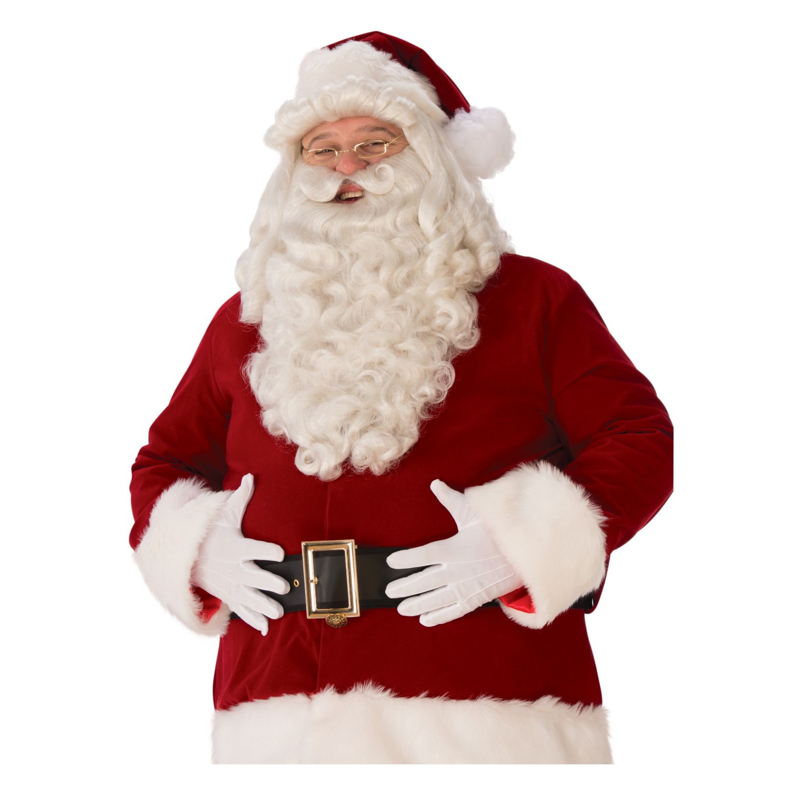 Mens Ultra Premium Santa Beard and Wig