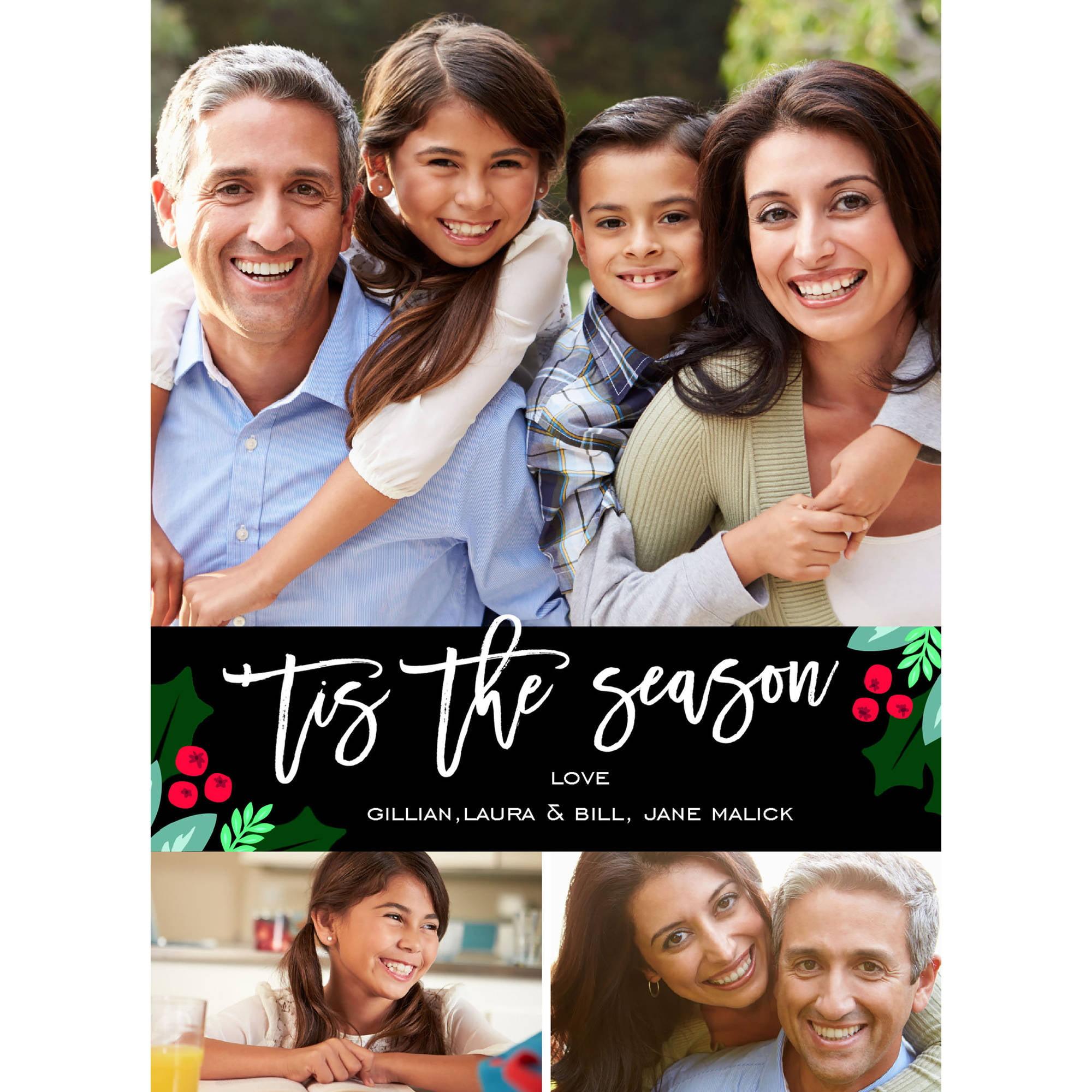 Seasonal Sprigs Holiday Card