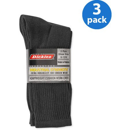 Walmart offers ten pairs of Dickies Men's Dri-Tech Crew Work Socks in several colors (Black pictured) for $Opt for in-store pickup to dodge the $ shipping fee. That ties last month's mention and is the lowest price we could find now by $ They fit shoe sizes 6 to