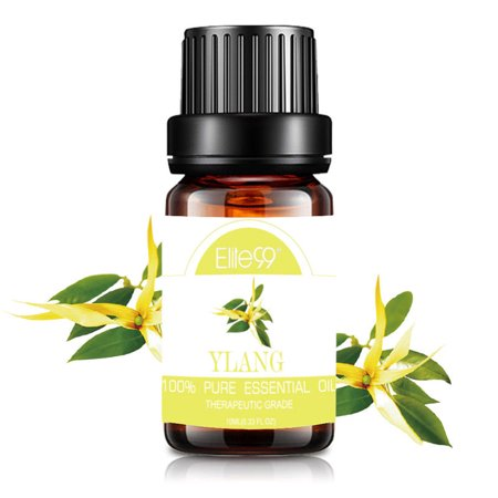 Elite99 10ML Ylang Ylang Essential Oil 100% Pure & Natural Aromatherapy Oils For Diffuser,Massage,Relaxation
