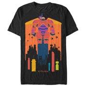 Big Hero 6 Men's Baymax and Hiro Fly T-Shirt